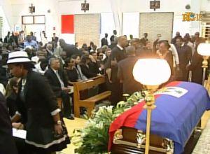 funerailles de jean-claude Duvalier