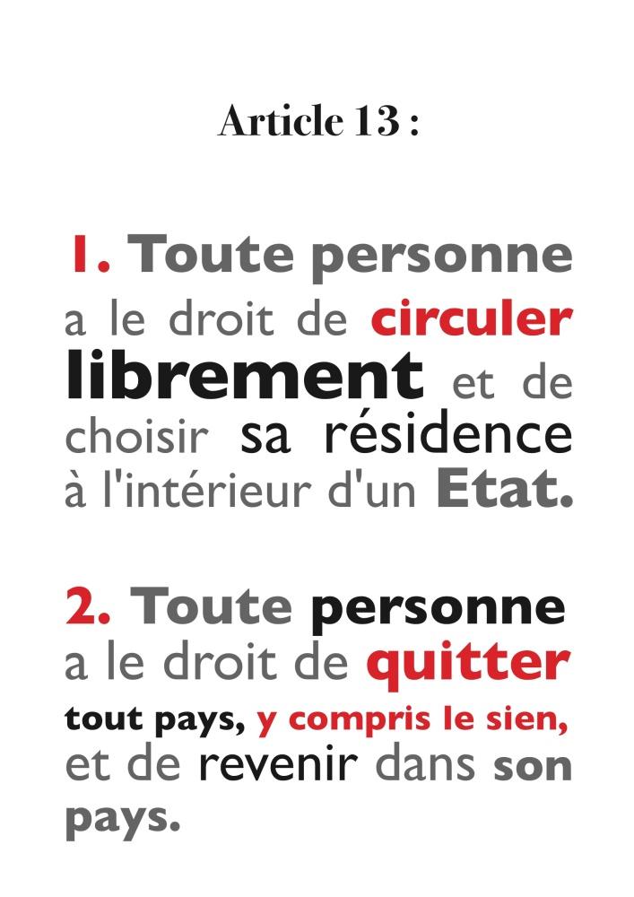 10 décembre : Journée Internationale Des Droits De L'homme (6/6)