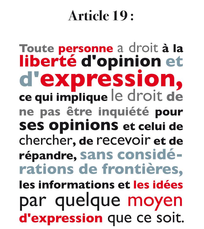10 décembre : Journée Internationale Des Droits De L'homme (2/6)