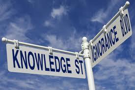 ignorance et knowledge