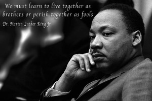 Martin Luther King live together