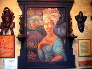 Marie laveau at the museum