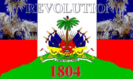 Haitian flag revolution